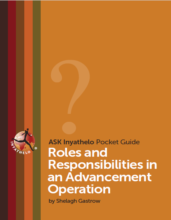 Roles and Responsibilities in an Advancement Operation