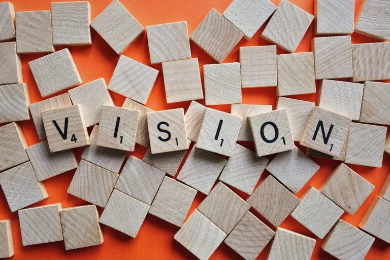 Setting a clear vision and mission